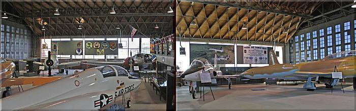 Hangar 25 interior views